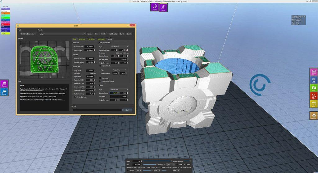CraftWare_Companion_Cube_Boom_Box_Setup